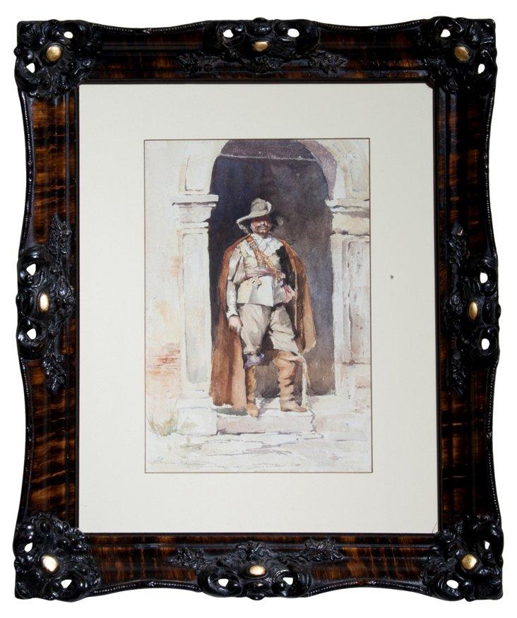 Florence Robinson Watercolor