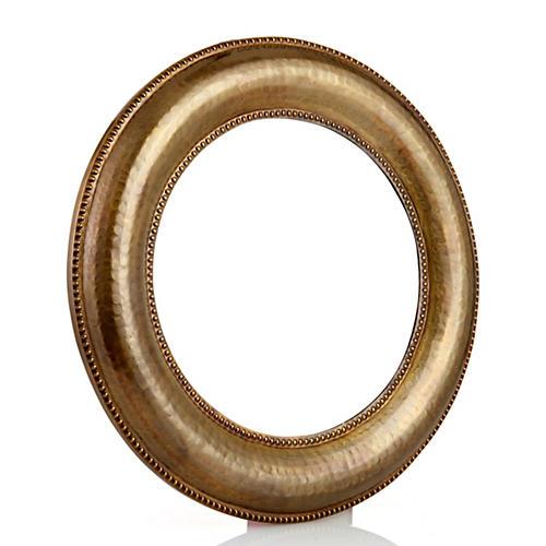 Round Accent Mirror, Bronze