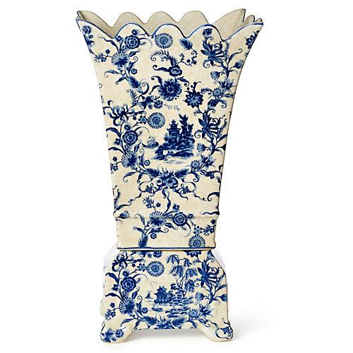 """21"""" Porcelain Vase"""