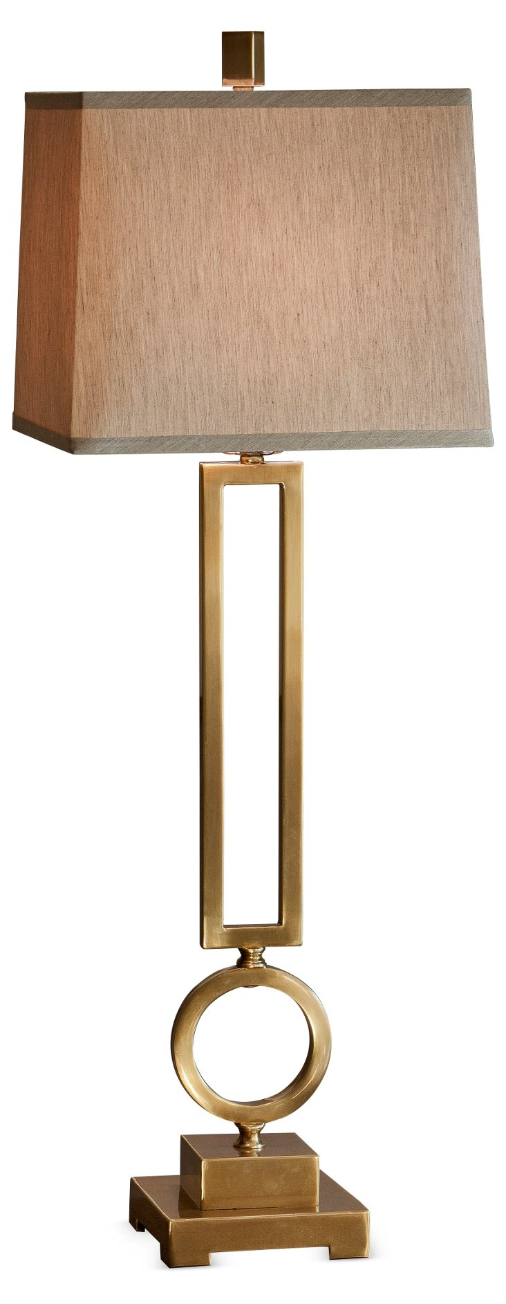 Alston Table Lamp, Brass