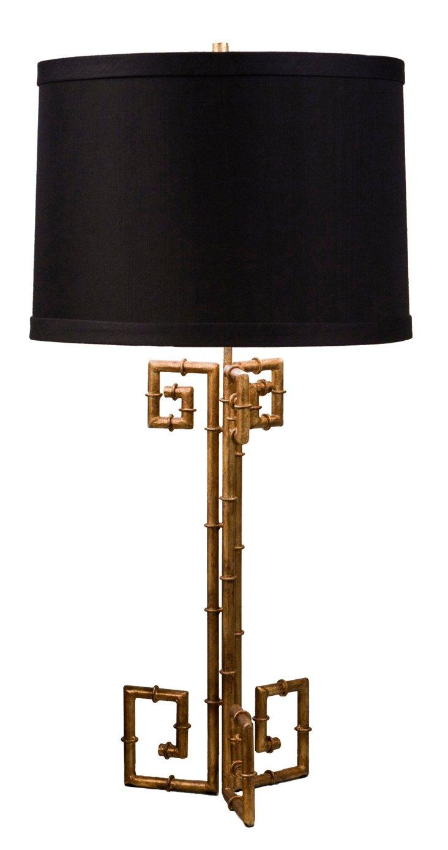 Berkeley Table Lamp, Gold Bamboo