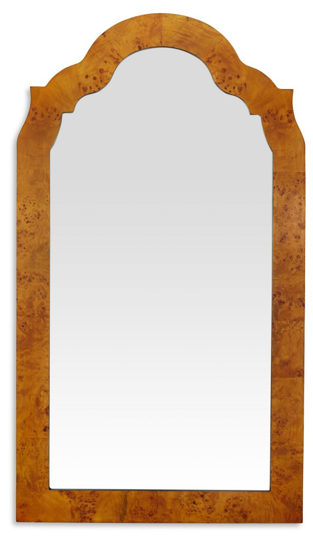 Chippendale Oversize Mirror, Natural