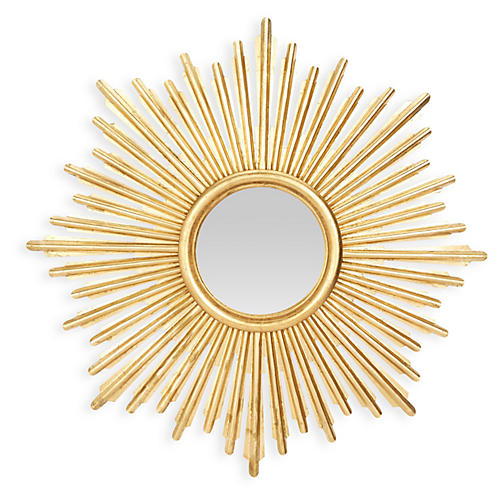 Sunburst Mirror, Gold
