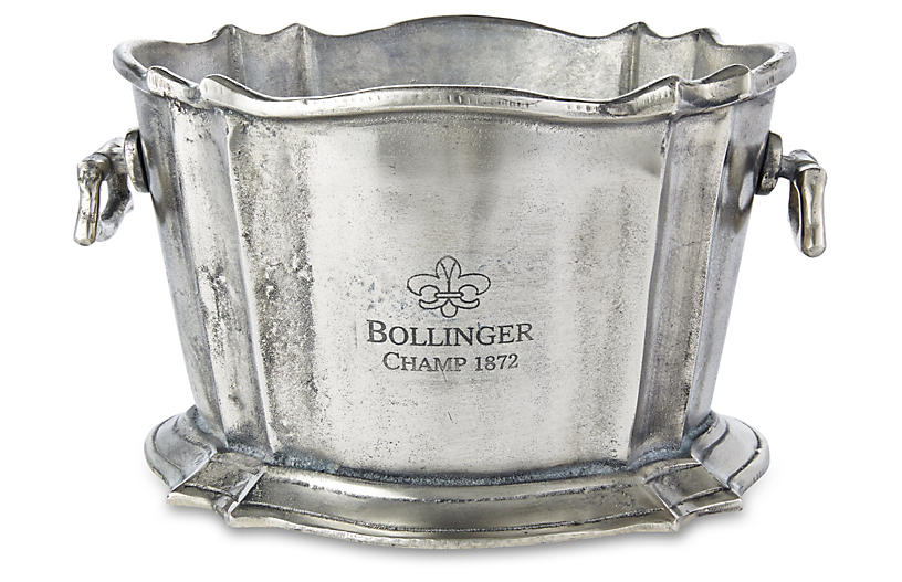 Bollinger Ice Bucket, Silver