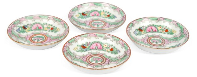Famille Rose Dishes, Set of 4