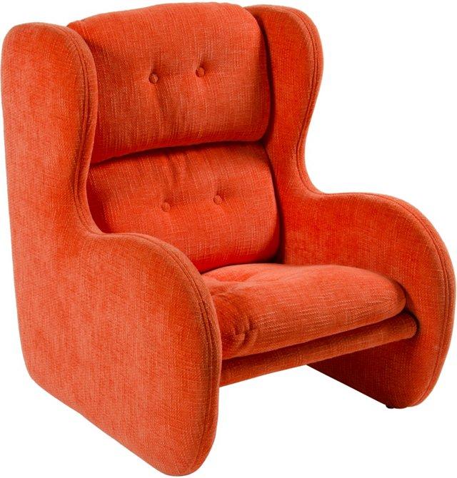 California Modern Sling Club Chair