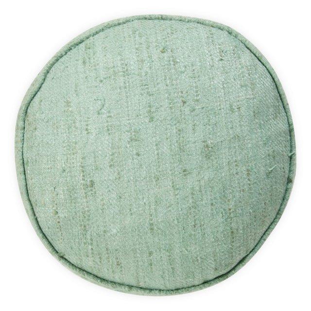 Raw-Silk Pillow