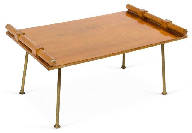 1950s Wood Tray
