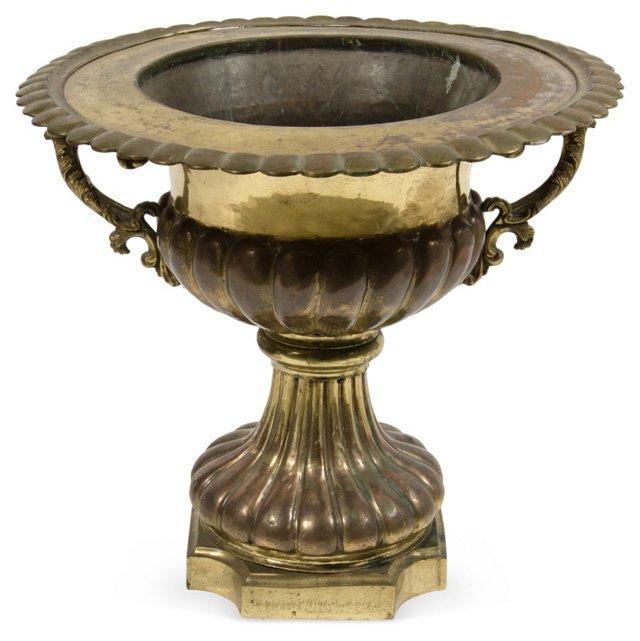 1940s Brass Bowl