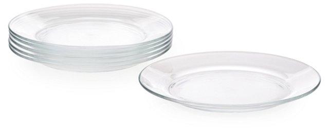 S/6 Lys Dessert Plates