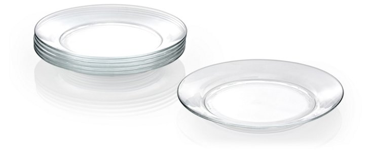 S/6 Lys Dinner Plates