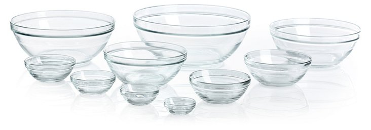 10-Pc Lys Nested Mixing Bowl Set