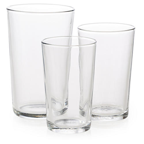 18-Pc Assorted Unie Glassware Set