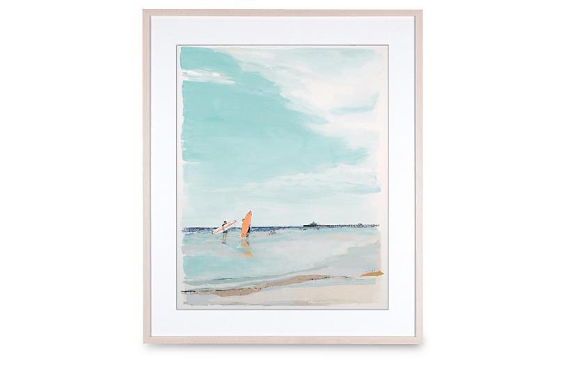 Tangerine Surfboard - Karin Olah