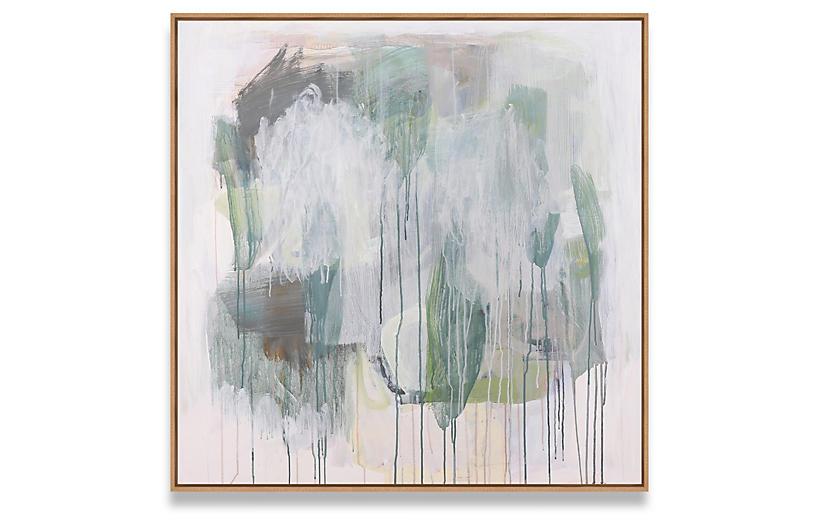 Nell Waters Bernegger, Palms in Rain