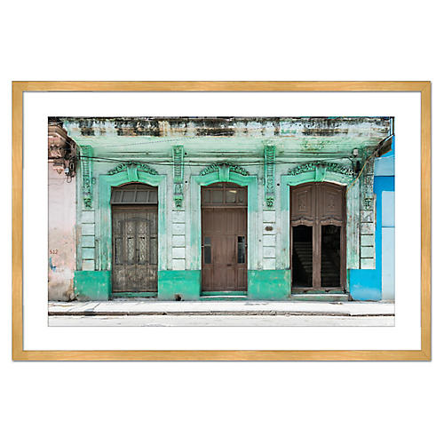 Doors of Havana, Richard Silver