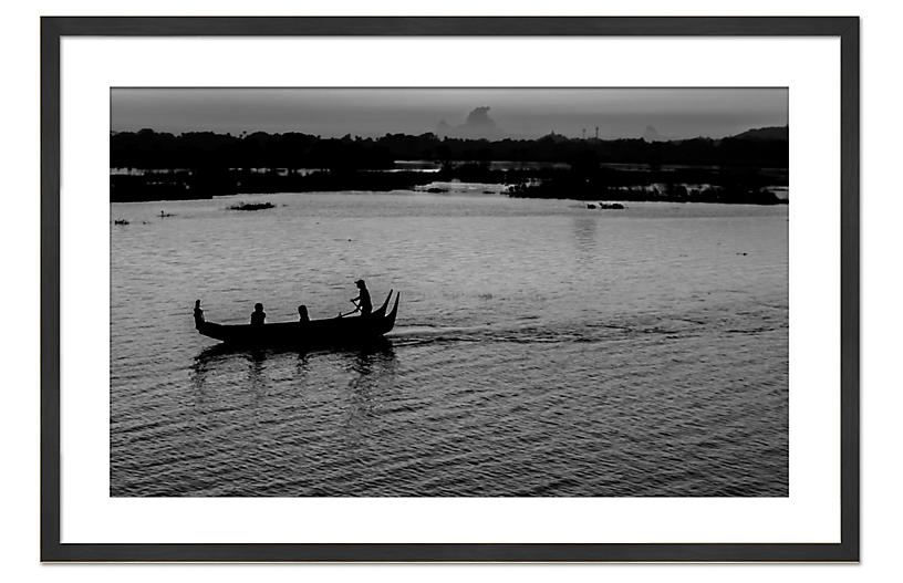 Richard Silver, Myanmar by Boat