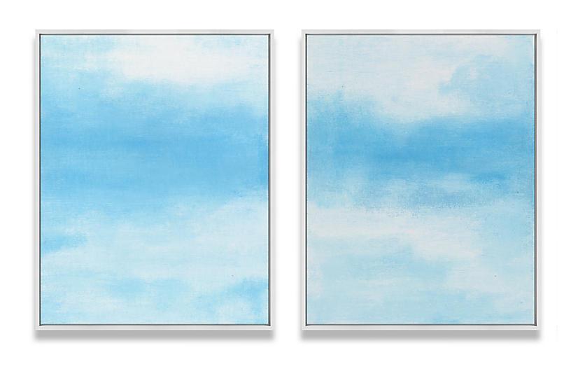 Ilana Greenberg, Daydreams Diptych