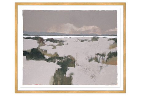 Greg Hargreaves, Dunes in Winter