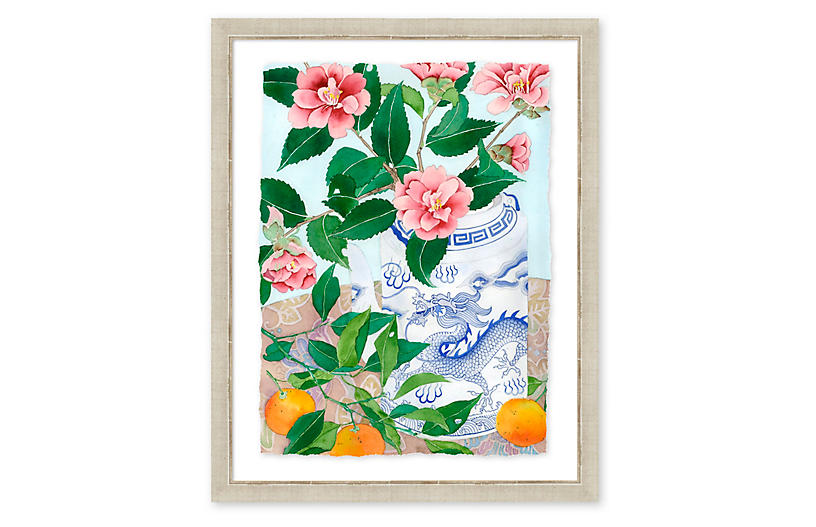 Gabby Malpas, Camellias & Citrus