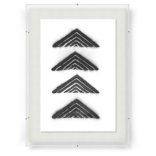 Aztec Triangle-Black, Adrienne Wong