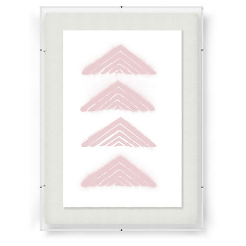 Adrienne Wong, Aztec Triangle-Rose