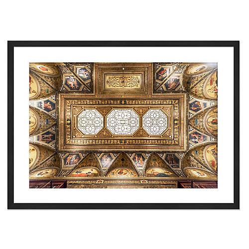Richard Silver, Morgan Library Ceiling