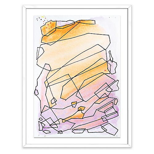 Linda Colletta, Geometric Sunset