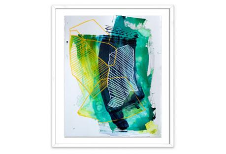 Organic Geometry I, Linda Colletta