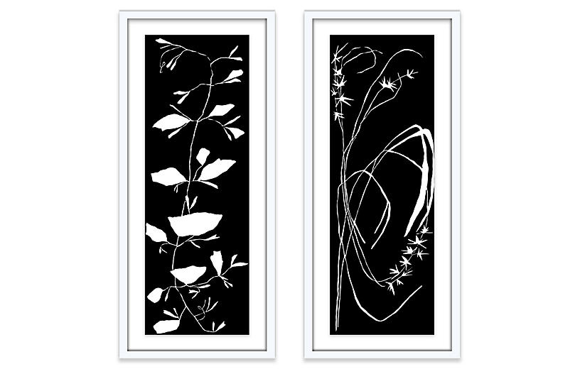 Kate Roebuck, Black Diptych