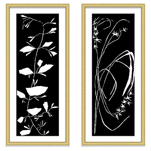 Black Diptych, Kate Roebuck