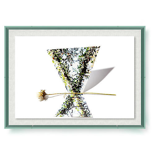 Frank Frances, Floral VI Acrylic Frame