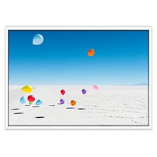 Uyuni Salt Flats Balloons, Richard Silver