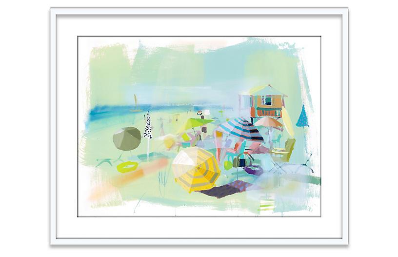 The Beach - Teil Duncan Art