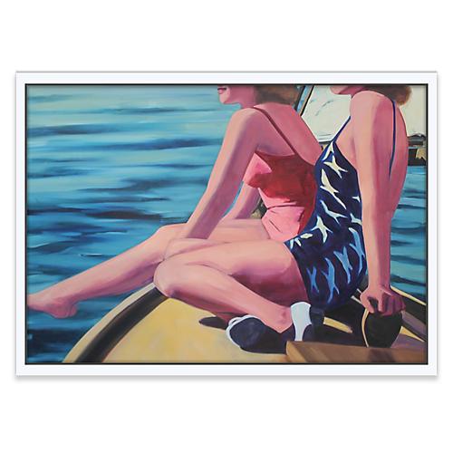 Sailing Girls, T.S. Harris