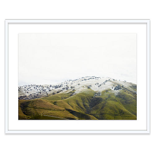 Bryce Duffy, Snow-Dusted Hillside