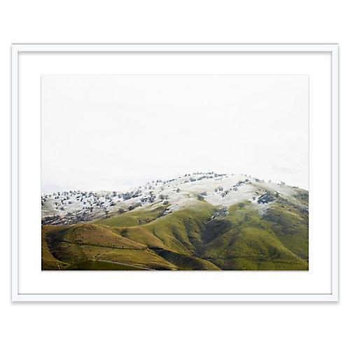 Bryce Duffy, Snow-Dusted Hillside