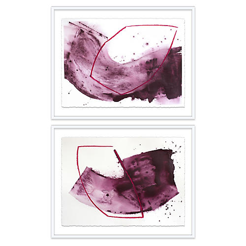 Linda Colletta, One & Two Diptych