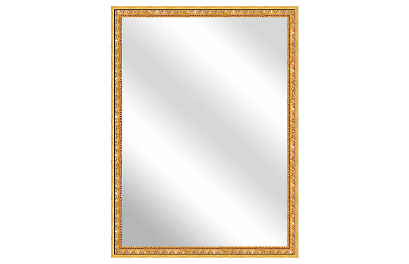 Brayan Wall Mirror, Gold