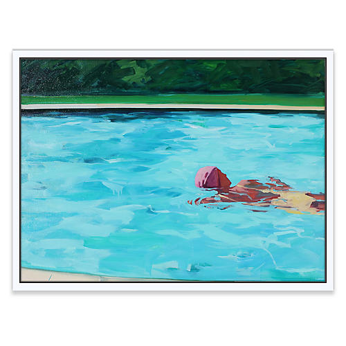 T.S. Harris, Swimming Laps