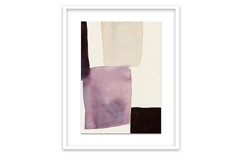 Jen Garrido, Color Stacks-Eggplant