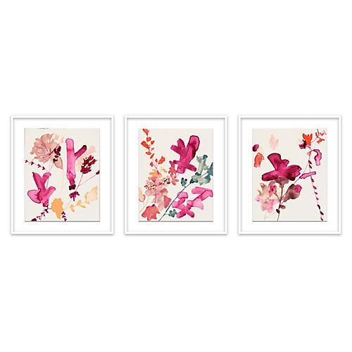 Jen Garrido, Pinks Triptych