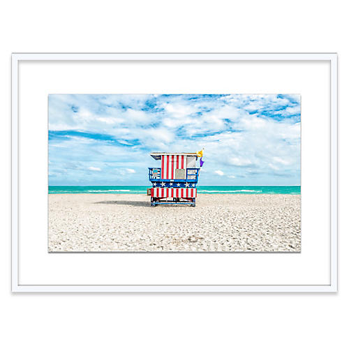 Richard Silver, Lifeguard Chair, Miami I