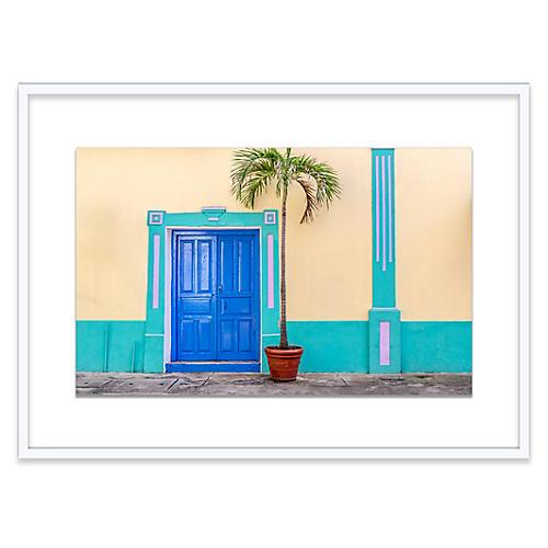 Panama City Door Photograph
