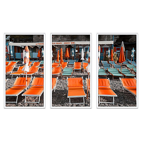 La Marinella Triptych, Natalie Obradovich