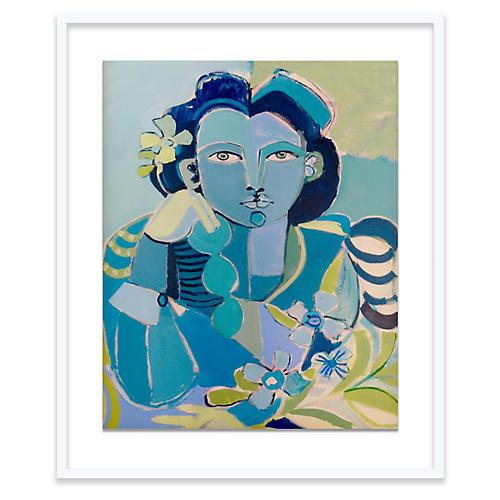 Blue Lady, Hayley Mitchell