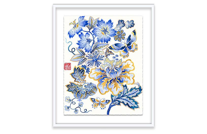 Gabby Malpas, Fantasy Floral I