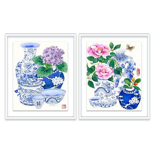Floral Diptych, Gabby Malpas