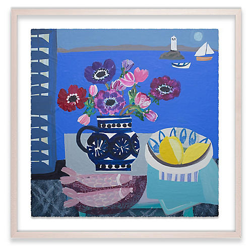 Emma Williams, Mixed Anemones and Lemons