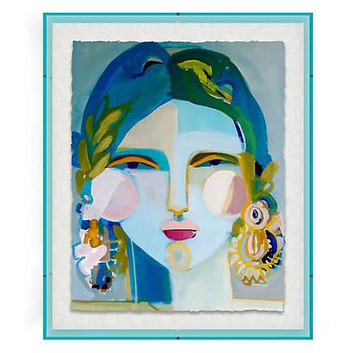 Ka'iuliani, Blue Acrylic Box